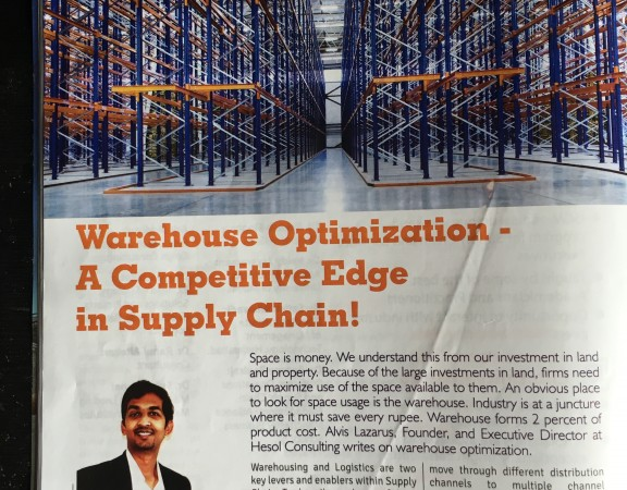 Warehouse Space Optimization as a key competitive edge in supply chain