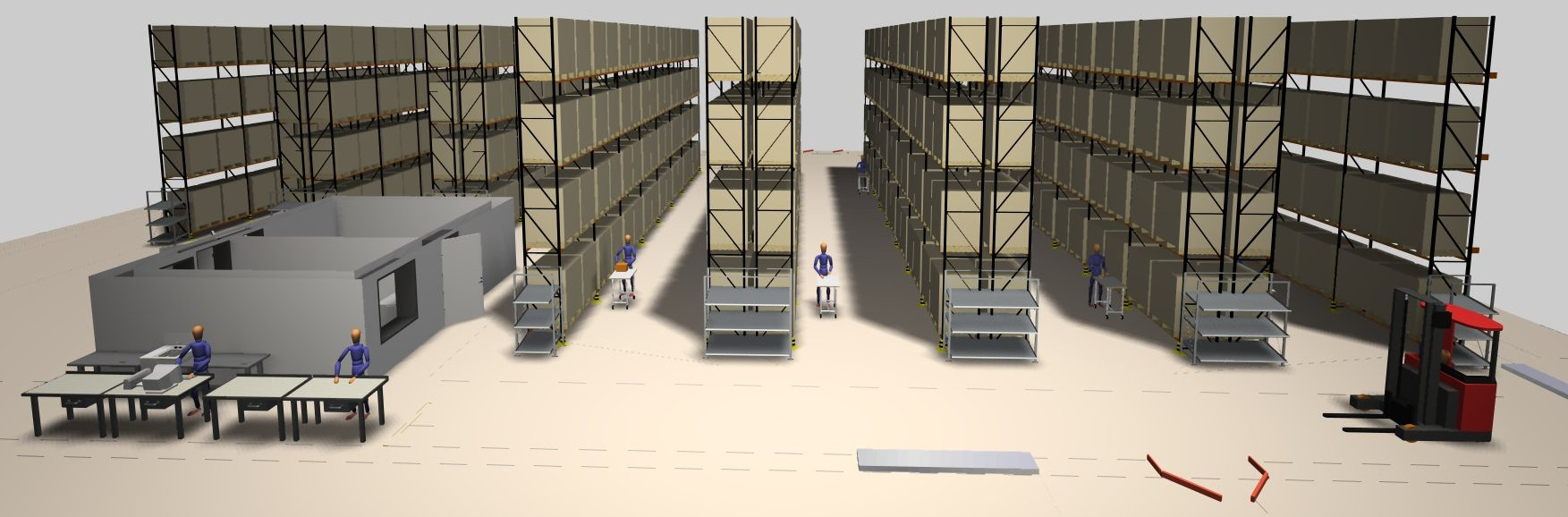 Science behind warehouse design and start up hesol for Warehouse plans designs