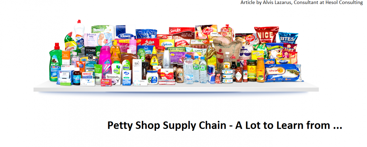 Petty Shop Supply Chain kirana stores supply chain