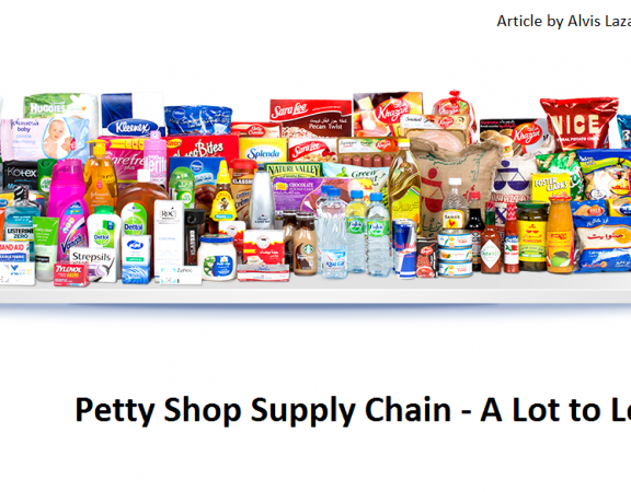 Petty Shop Supply Chain kirana stores supply chain