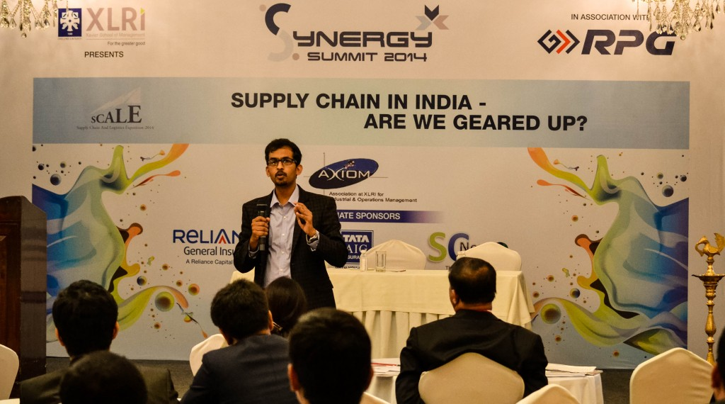 Chief Guest and Key Note on Supply Chain at XLRI