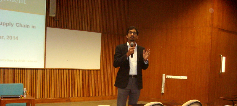 Supply Chain and Logistics Guest Lecture at PDPU
