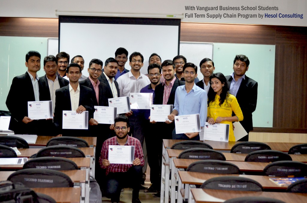 'Supply Chain' Program at Vanguard Business School