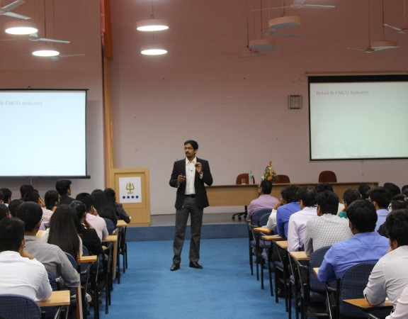 Supply Chain Key Note at IMT Nagpur by Alvis Lazarus, CEO Hesol Consulting. The session covered supply chain at 4 Indian Sectors.