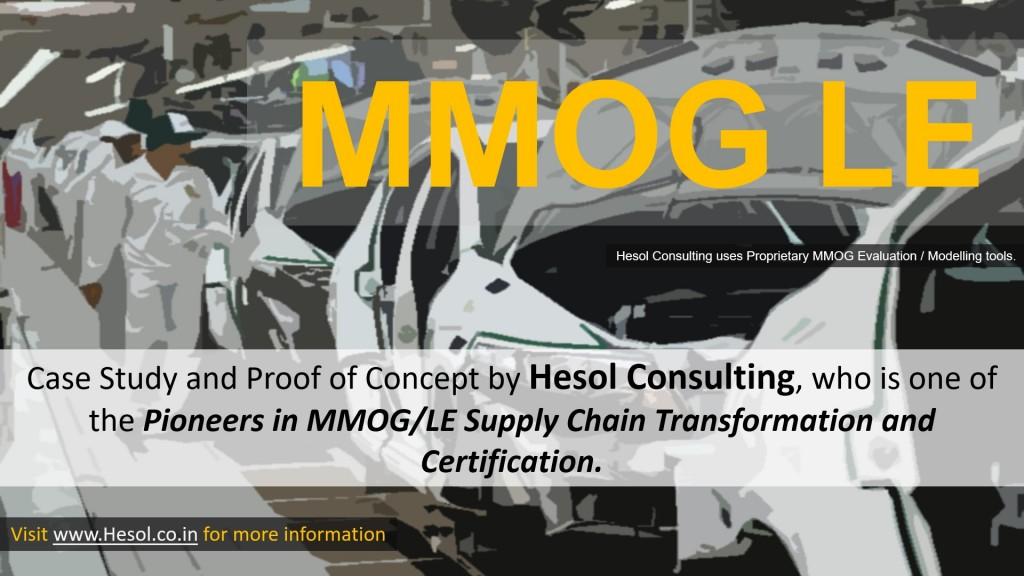 Hesol India | Logistics and Supply Chain Consulting